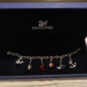 Nautical Swarovski Charm Bracelet